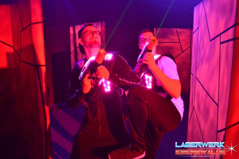Geburtstag im Laserwerk Eberswalde Lasertag - Lasergame