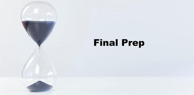 IELTS試験直前対策とIELTS試験当日の注意事項