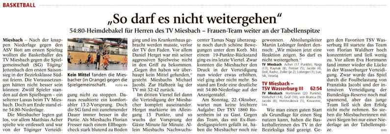 Bericht im Miesbacher Merkur am 17.10.17 - Zum Vergrößern klicken