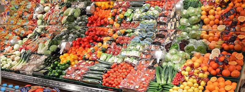 EDEKA Tamme Hamburg frische Obst- und Gemüsetheke