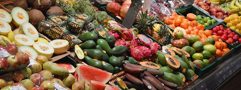 EDEKA Tamme Hamburg führt exotisches frisches Obst