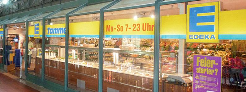 Ihr EDEKA Supermarkt im Hauptbahnhof Hamburg - Wandelhalle