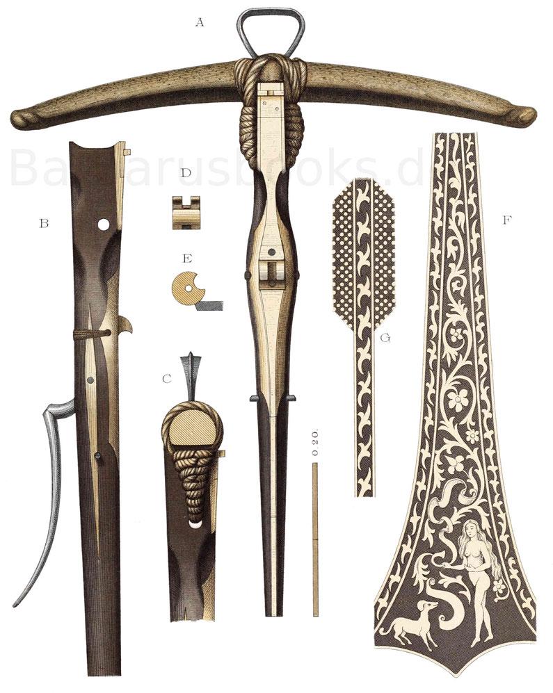 Armbrust des 15. Jahrhunderts.