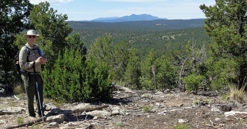 Rocky Top Trail, Manzanita Mountains, Cibola National Forest, New Mexico