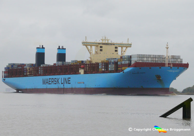 Maersk-Line Tripple-E-Containerschiff MARCHEN MAERSK