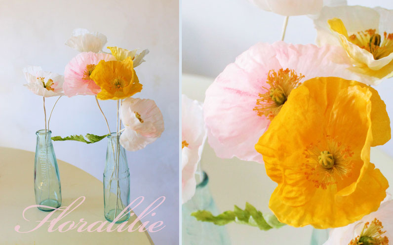 Wafer Paper Poppies | Floralilie Sugar Art