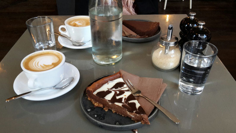 Kuchen Kaffee Occam Deli München