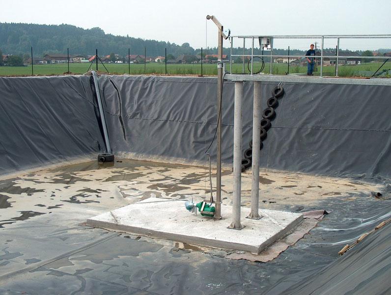 Mezcladores - agitadores para lagunas - Mixer for lagoon