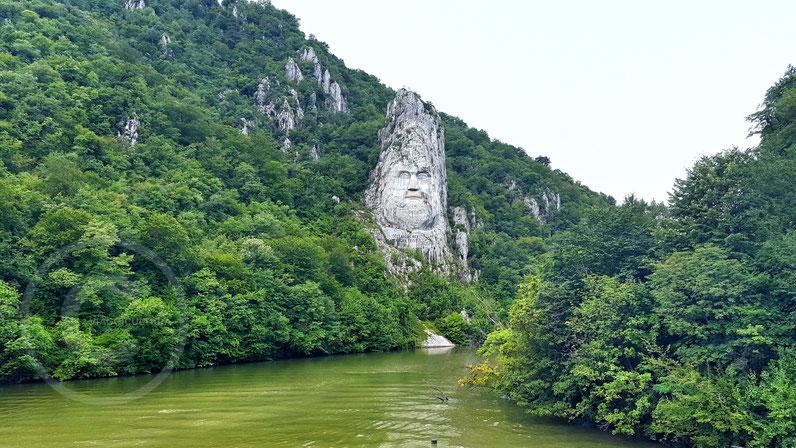 Statua del re Decebalo - Romania