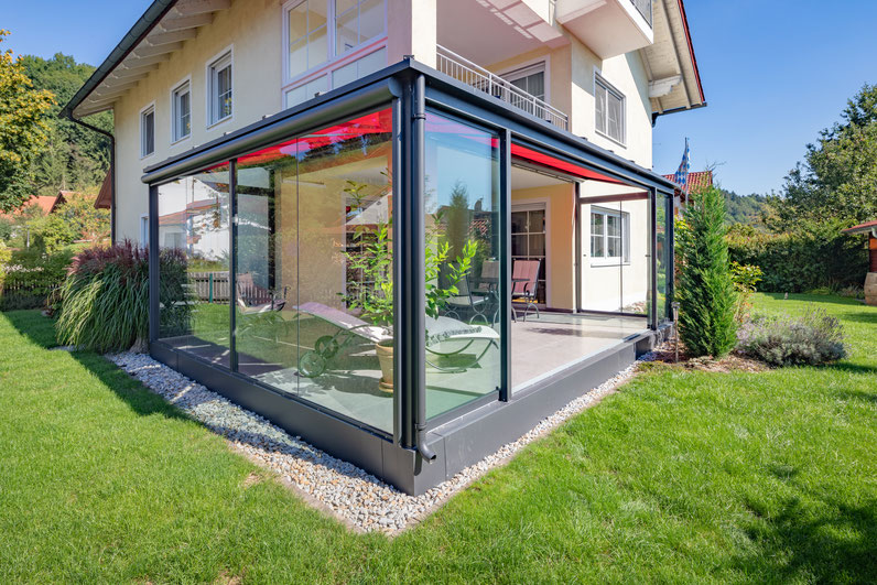 Terrassenüberdachung in Schechen - in Planung