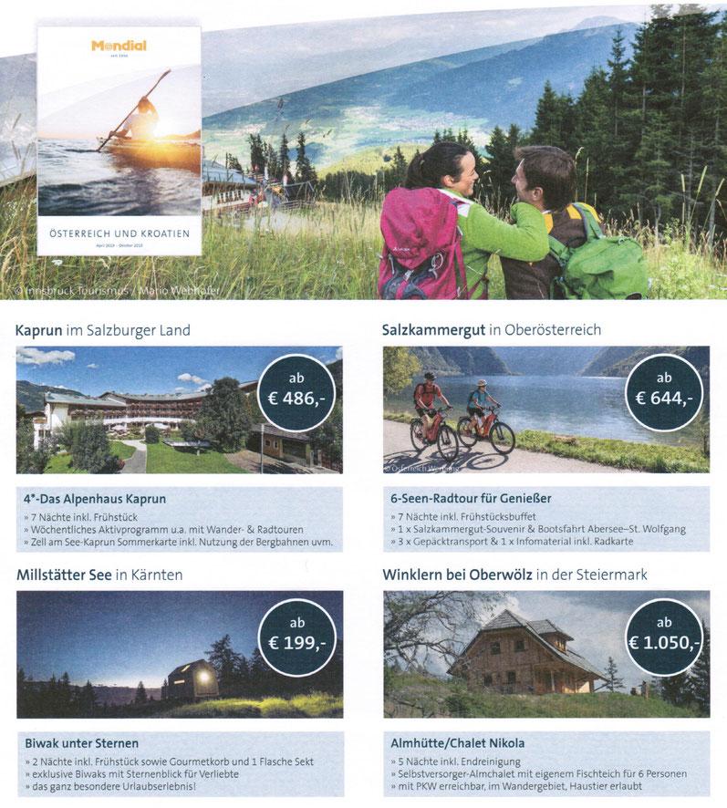 Hüttenurlaub in Öterreich individuell