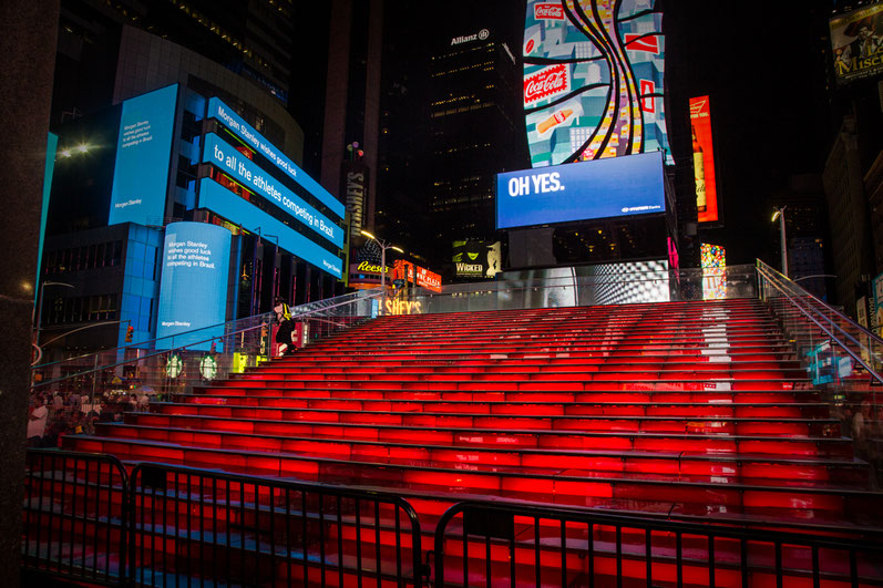 New york, time square