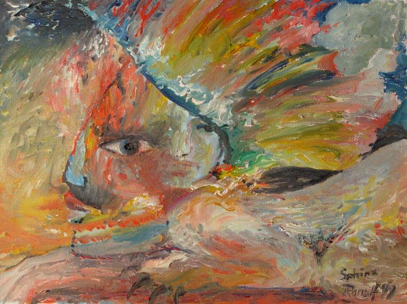 Sphinx, Malerei