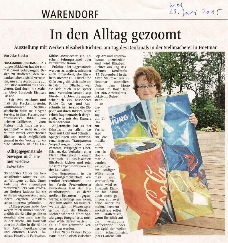 Elisabeth Richter Alte Stellmacherei Hoetmar 2015