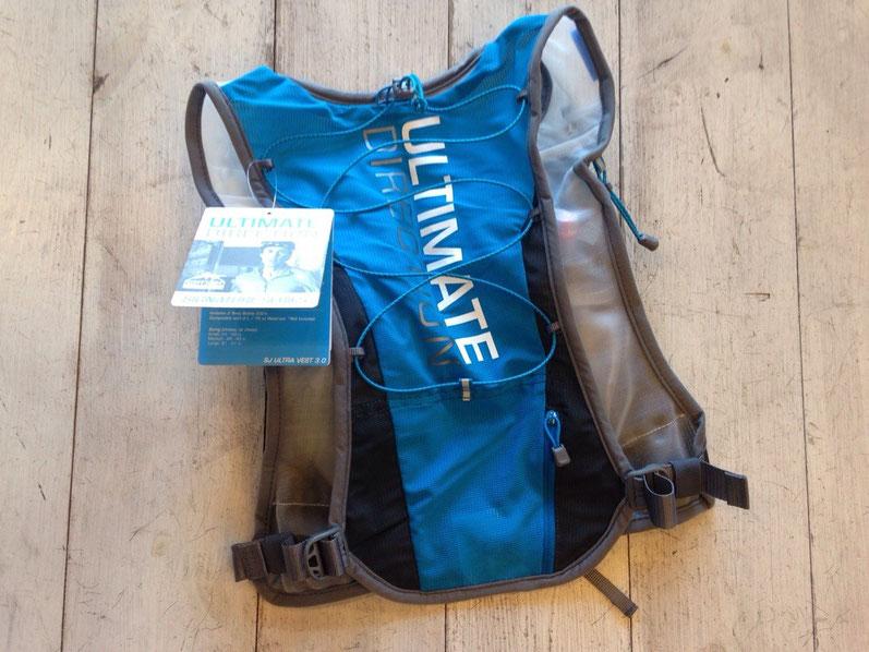 Ultimate Direction(アルティメイトディレクション)SJ ULTRA VEST 3.0 ¥19,440(税込)