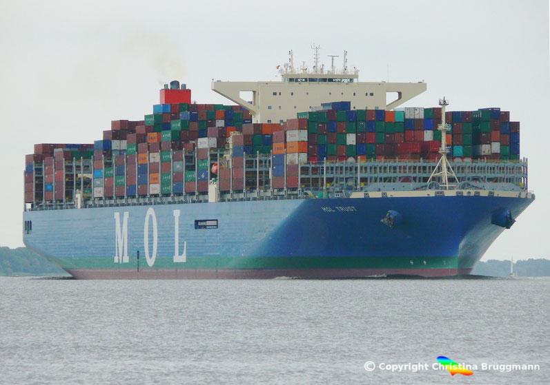 MOL Containerschiff MOL TRUST