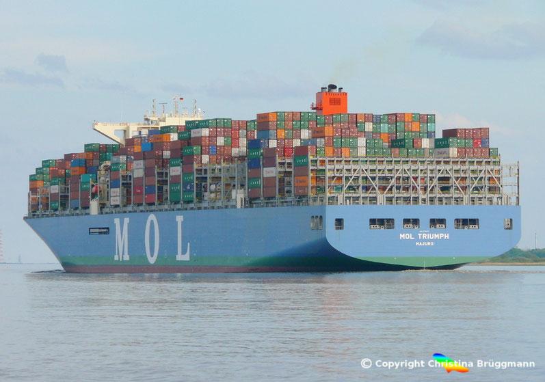 """MOL Containerschiff """"MOL TRIUMPH"""""""