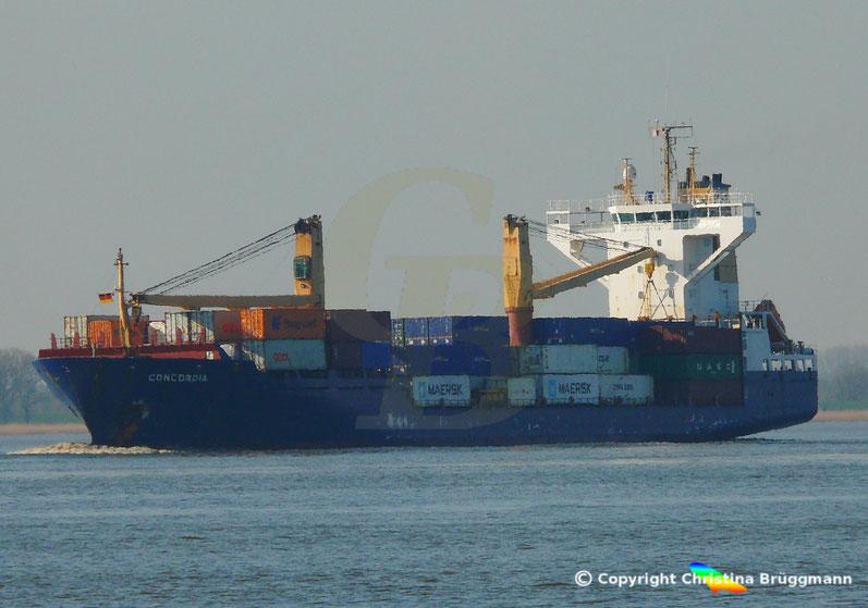 Feeder Containerschiff CONCORDIA, Sietas Typ 162