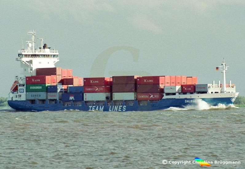"""Feeder Containerschiff """"DALSLAND"""""""