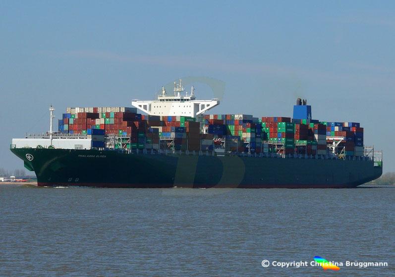 Containerschiff THALLASA ELPIDA