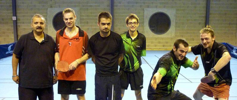 D4A contre Bellac CTT 3 : Karim, Buno et Quentin.