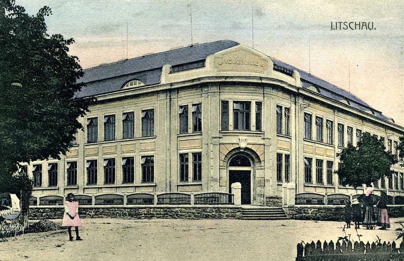 Volks- und Hauptschule Anfang der 1930er Jahre