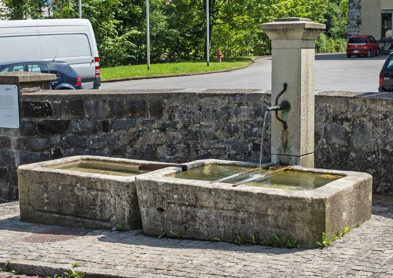 Brunnen beim Löntschwerk, Koordinaten 722451 213157
