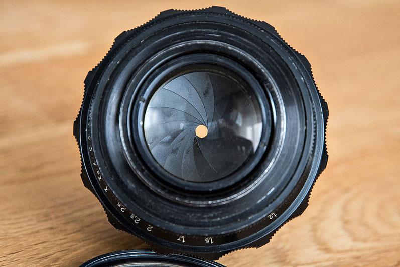 Test Bubble Bokeh. 15 Blendenlamellen und eine kreisrunde Öffnung beim 2/85mm JUPITER-9. Foto: bonnescape.de