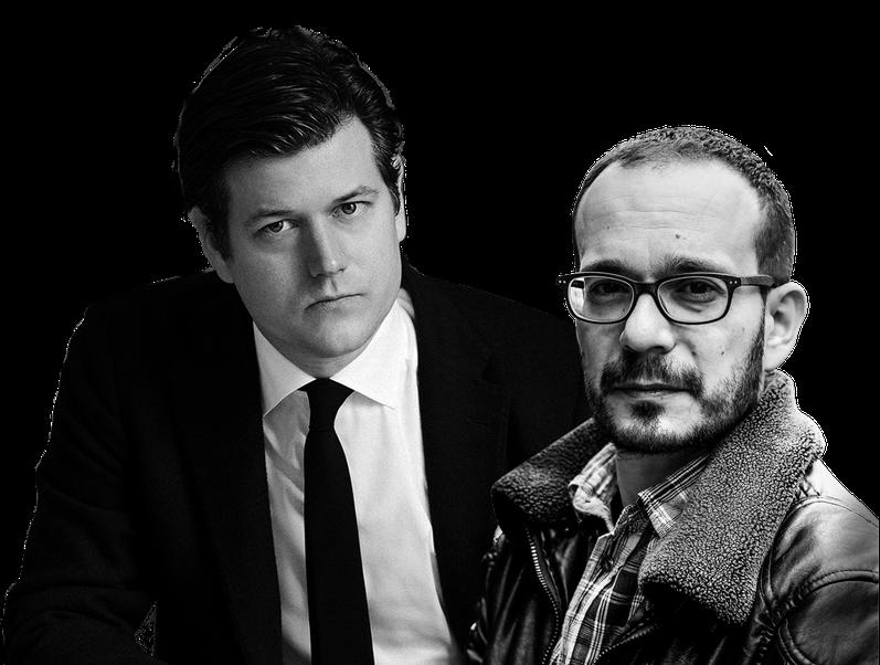 Lenz Koppelstätter (Foto: Gene Glover), Luca D'Andrea (Foto: Michele Melani)