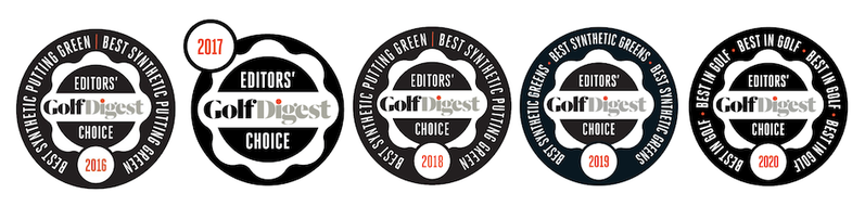 Golf Digest; Digest; Award; Editors Choice; Best synthetic golf; Southwest Greens; Southwestgreens; synthetic; turf; Grass; artificial; Private Greens; Golf Green; Luxury; Golf; Private Green; Nicklaus Design; erba artificiale; campo da golf; costruzione;