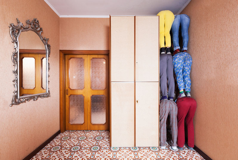 Living room, Terni, Italy, 2014