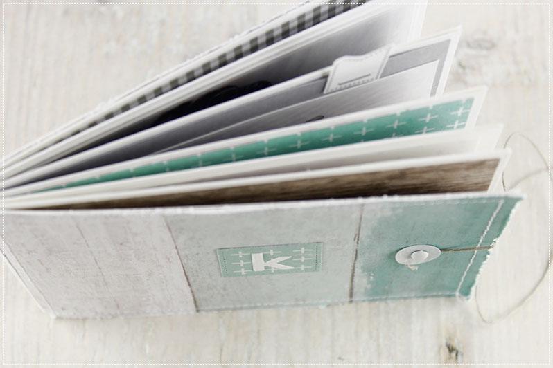 Scrapbook Minialbum Hamster, Album, Scrappen, Mini
