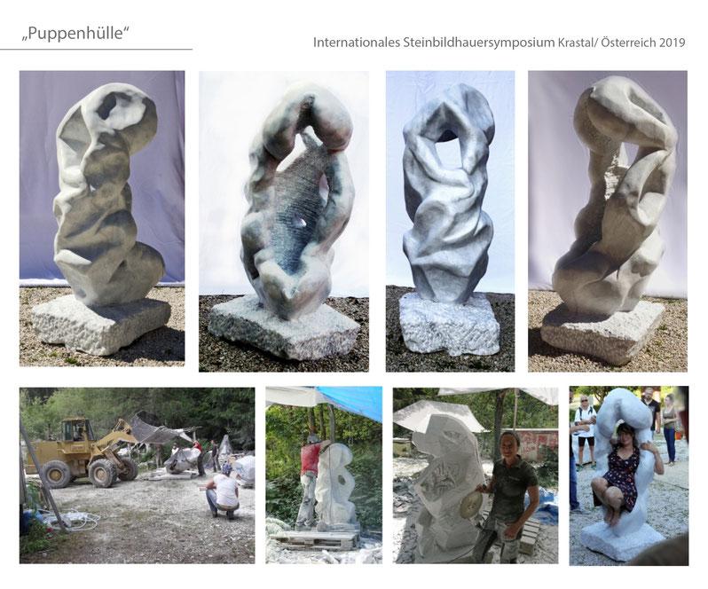 #Krastal #Krastalermarmor #marmor #Katharina Mörth #Contemporaryart #Sculpture #Skulptur #Stein #Design #Kunst #Gartendesign #Gardensculpture #2019 private collection wörthersee