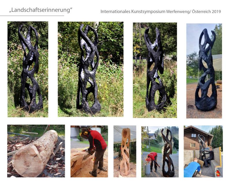 #Werrfenweng #Werfenwengerweiss #Katharina Mörth #Contemporaryart #Sculpture #Skulptur #Holz #Design #Kunst #Gartendesign #Gardensculpture #Gartenskulptur #2019