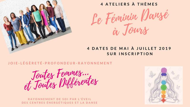 stage avec Béatrice Deffromont à Tours - Le Féminin Dansé