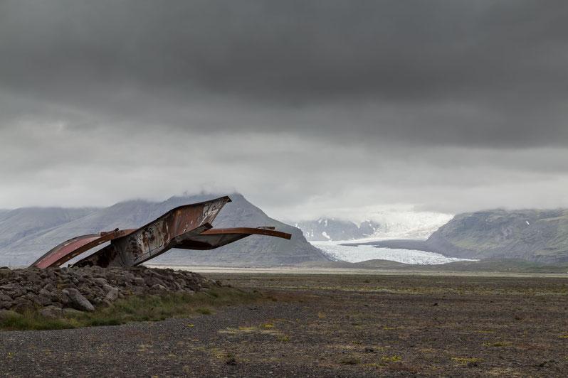Skeiðará Brücken Monument