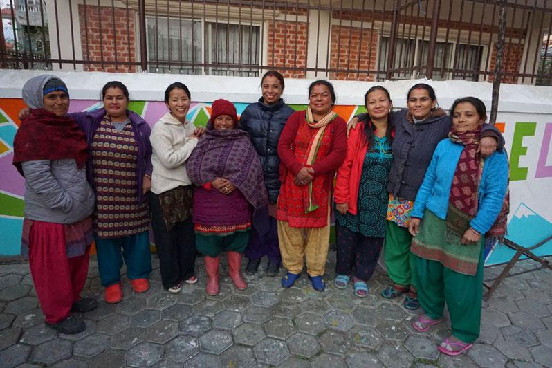Gruppenbild von unseren Hausangestellten (Didis)