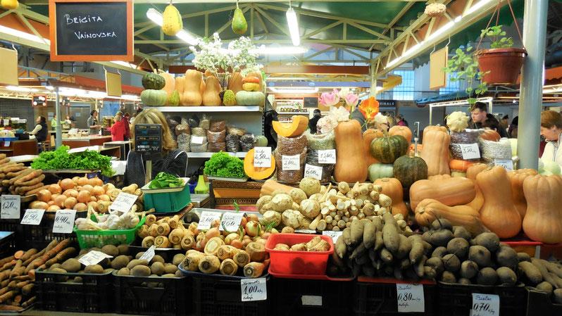 Food, food, food auf dem Zentralmarkt