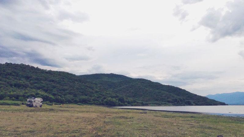 bigousteppes grèce lac