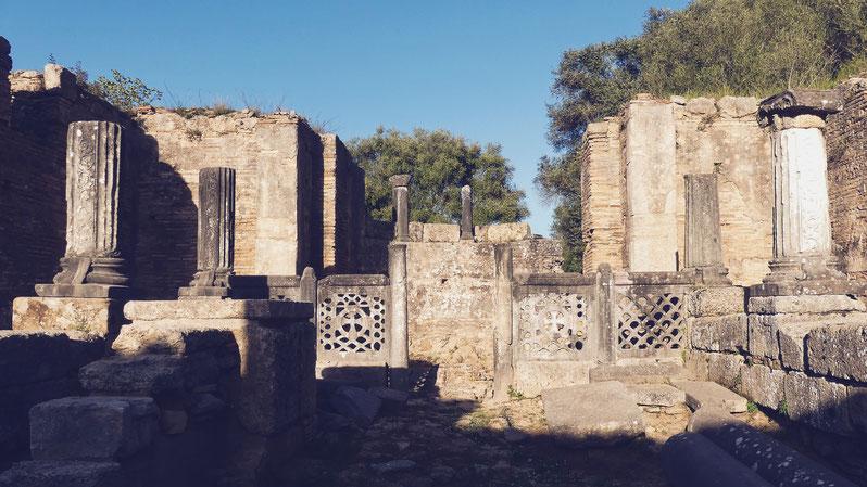 BIGOUSTEPPES SITE ANTIQUE OLYMPIE GRECE PELOPONNESE