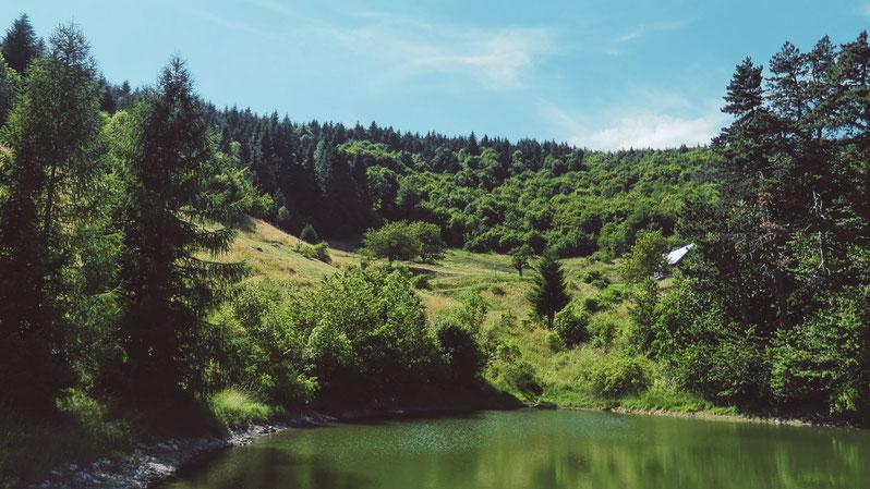 BIGOUSTEPPES SLOVAQUIE BANSKA STIAVNICA LAC FORET RANDONNEE MONTAGNE