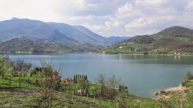 bigousteppes lac bosnie herzégovine