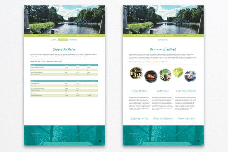 Das Flussbad Rostock hat eine neue Website.