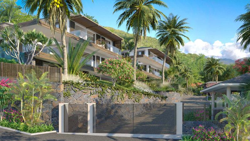 Villas de luxe ile maurice NOSSYBLUE par JINVESTY ILE MAURICE