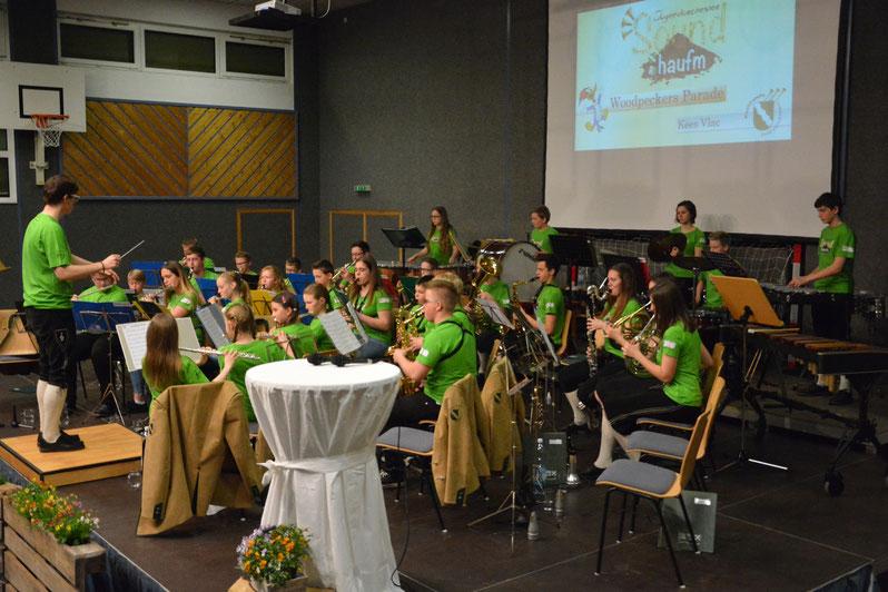 Jugendorchester Soundhaufm beim Frühjahrskonzert 2017 in Unterweißenbach