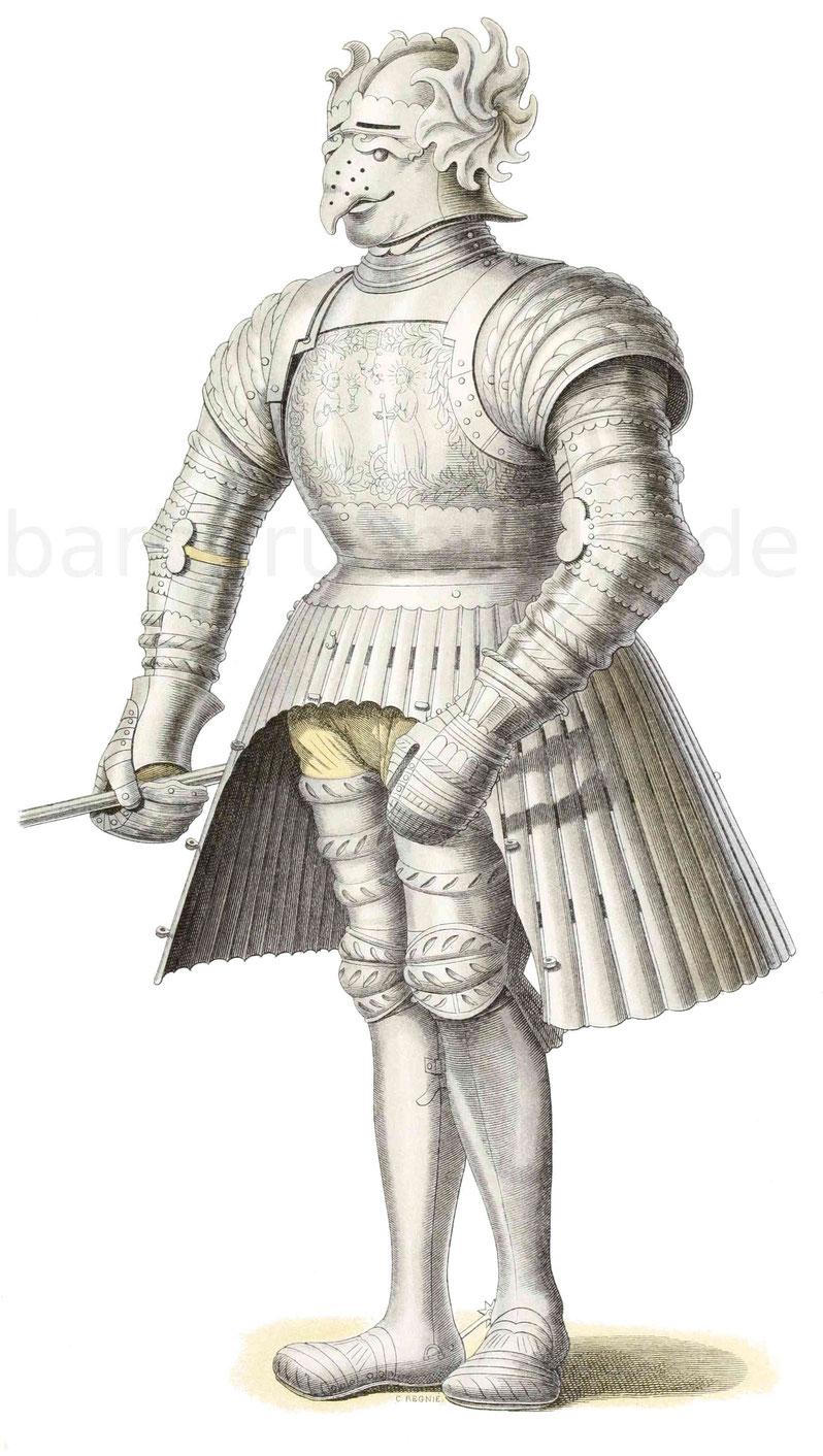 Harnisch aus der ersten Hälfte des 16. Jahrhunderts
