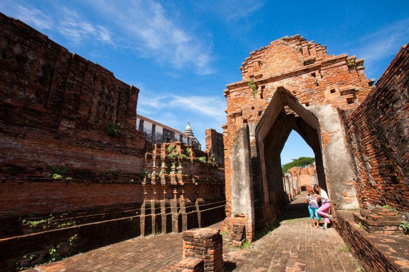 Ajutaja - ankstesnės tajų karalystės sostinė netoli Bankoko