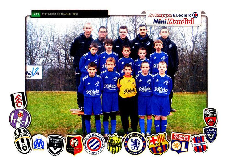 2ème participation avec l'Eveil Philbertin Football, au tournoi U11
