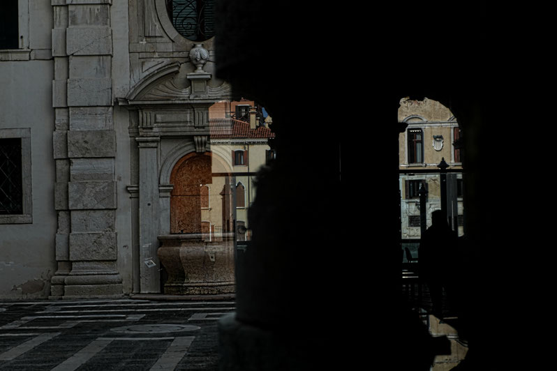 Mathieu Guillochon, photographe, Italie, Venise, ca' rezzonico, palais, musée, 18e siècle vénitien, inside outside, histoire, république de venise