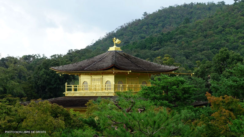 Phénix à l'envol, Pavillon d'Or à Kyoto